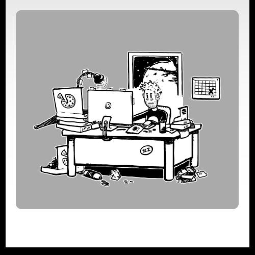 Erklärbild Webdesigner